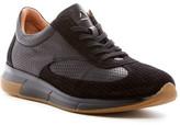 Aquatalia Zander Woven Calfskin Leather Sneaker