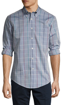 Brooks Brothers Poplin Multi Windowpane Sportshirt