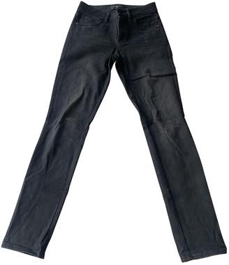 Chanel Black Cotton Jeans