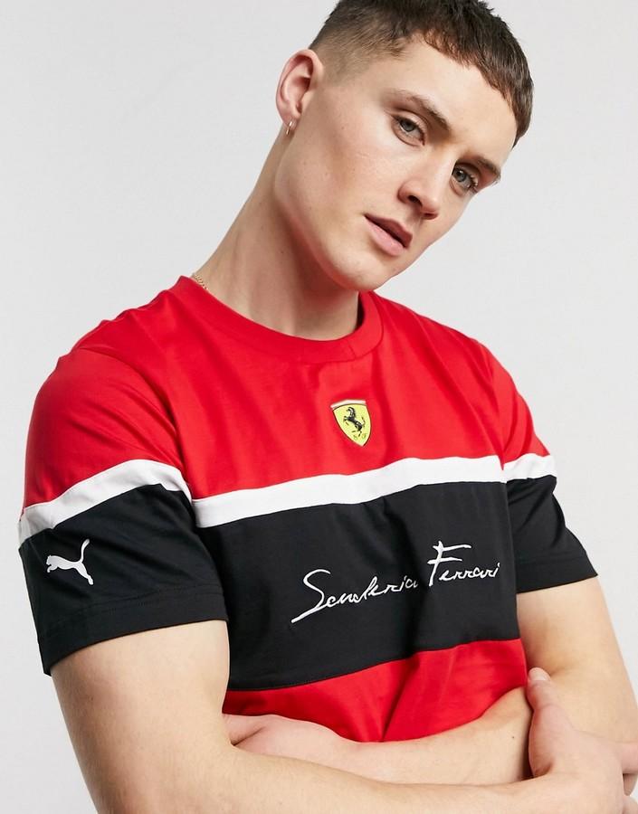 Puma Ferrari T Shirt Shop The World S Largest Collection Of Fashion Shopstyle