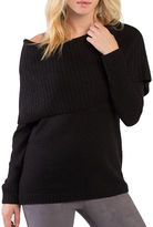 Kensie Tissue Knit Off the Shoulder Sweater
