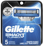 Gillette MACH3 Turbo Razor Refill Cartridges