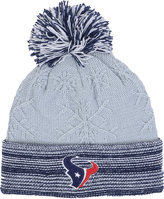 New Era Women's Houston Texans Snow Crown Redux Knit Hat
