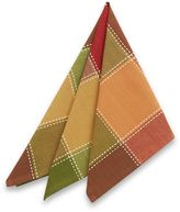 Bed Bath & Beyond Autumn Check Napkins (Set of 4)