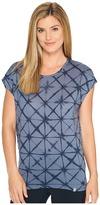 Icebreaker Nomi Short Sleeve Prism Fade Women's Clothing