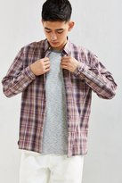 Urban Outfitters Gas Station Plaid Button-Down Shirt