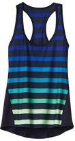 Athleta Chi Tank Bold Stripe