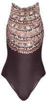Mara Hoffman Necklace-print swimsuit