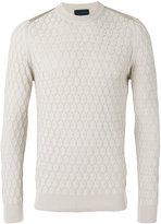Lanvin honeycomb knit jumper - men - Cotton - M