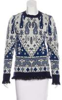 Tory Burch Wool Pattern Sweater
