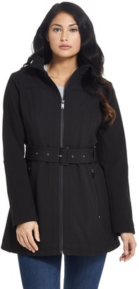 Gallery Women's Belted Soft Shell Jacket
