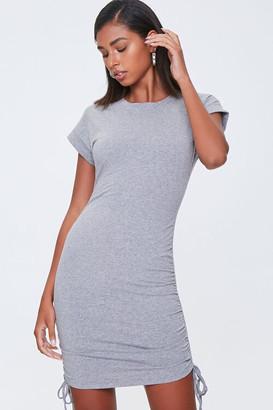 Forever 21 Drawstring T-Shirt Dress