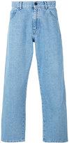 Gosha Rubchinskiy plain straight let pants - men - Cotton/Polyester - L