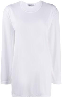 Comme des Garçons Comme des Garçons long-sleeved crew-neck T-shirt