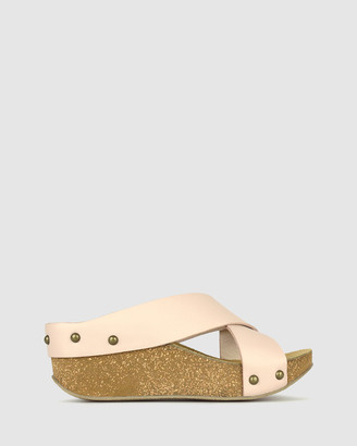 Airflex Franca Cork Wedge Sandals