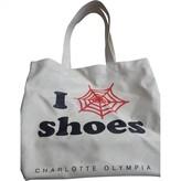 Charlotte Olympia Beige Synthetic Handbags