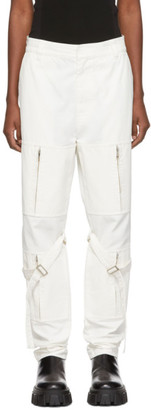 Ambush White Zipper Bondage Pants