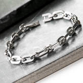 Grace & Valour Men's Stainless Steel Link Bracelet For Fathers Day