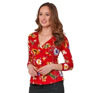Joe Browns Floral V-Neck T-Shirt