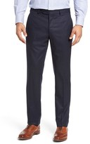 Peter Millar Men's Flat Front Wool Trousers
