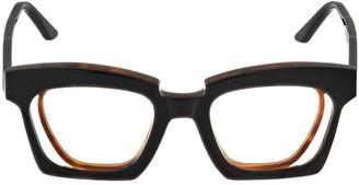 Kuboraum Berlin T3 Double Frame Acetate Sunglasses