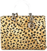 Christian Dior Pre Owned Lady leopard print bag
