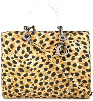 Christian Dior pre-owned Lady leopard print bag