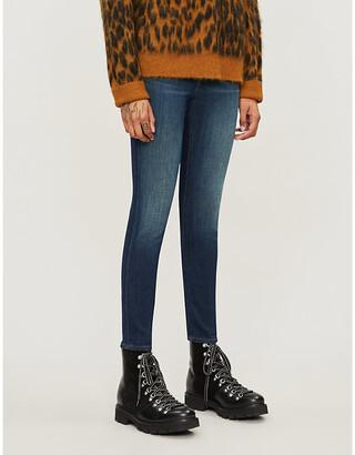 J Brand 835 Capri skinny mid-rise jeans