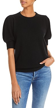 C by Bloomingdale's Puff Sleeve Cashmere Sweater - 100% Exclusive