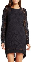 BCBGeneration Lace Cocoon Dress