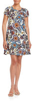 Betsey Johnson Floral Shift Dress
