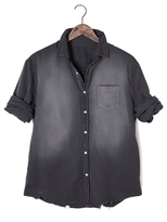 Frank And Eileen Mens Luke Stonewashed Indigo Shirt
