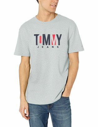 Tommy Hilfiger Men's T Shirt Short Sleeve Graphic Logo Tee