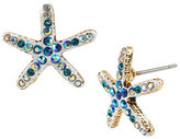 Betsey Johnson Starfish Stud Earrings