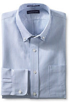 Classic Men's Tailored Fit Supima Oxford Hyde Park Dress Shirt-True Navy