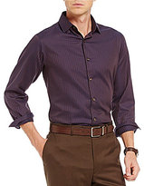 Hart Schaffner Marx Herringbone Long-Sleeve Woven Shirt