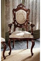 Toscano Toulon French Rococo Fabric Arm Chair Design