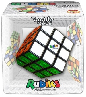 Winning Moves Rubik's Tactile Cube Puzzle