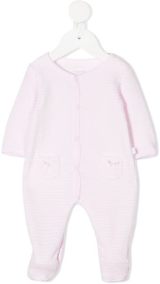 Absorba Embroidered Long-Sleeve Babygrow