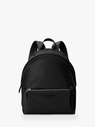 Kate Spade Nylon Large Backpack, Black