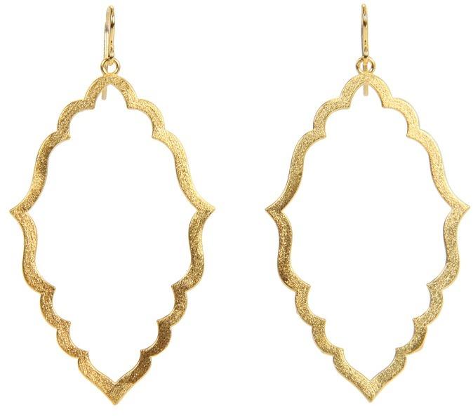 Dogeared Jewels - Moroccan Earrings (Gold) - Jewelry