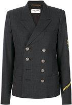 Saint Laurent oversized officer jacket