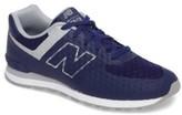 New Balance Boy's 574 Kids Only Sneaker