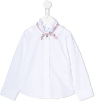 Lapin House bow detail blouse