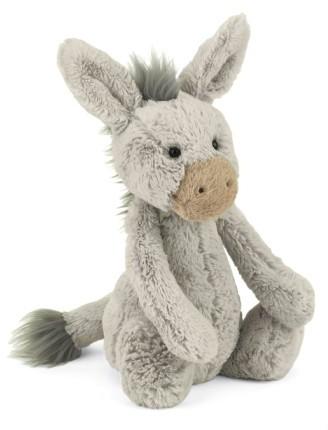 Jellycat Infant 'Bashful Donkey' Stuffed Animal