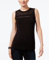INC International Concepts Illusion Sleeveless Top, Only at Macy's