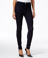 William Rast Sculpted High-Rise Rinse Wash Skinny Jeans