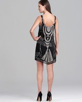 Renzo + Kai Beaded Cami Flapper Dress