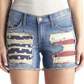Rock & Republic Women's Hula Flag Jean Shorts