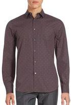Perry Ellis Long Sleeve Cotton Shirt